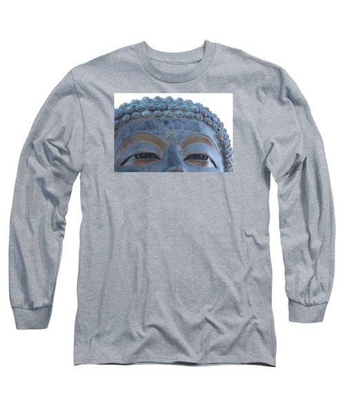 Buddha Eyes, Ngong Ping Village, Hong Kong Long Sleeve T-Shirt