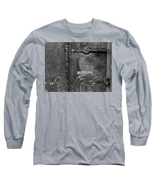 Buddha Long Sleeve T-Shirt by Laurie Stewart