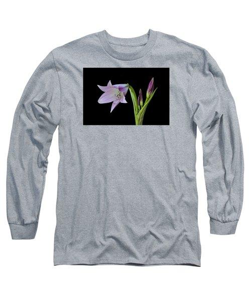 Budding Lily Long Sleeve T-Shirt