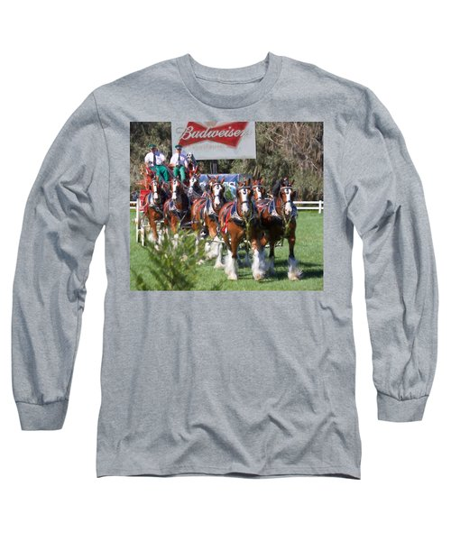 Budweiser Clydesdales Perfection Long Sleeve T-Shirt
