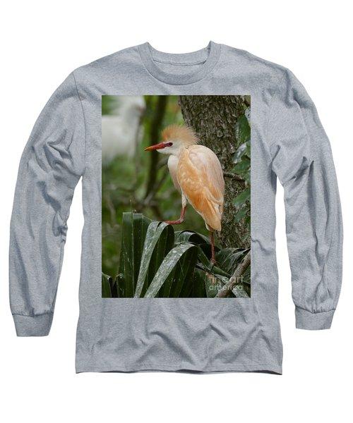Buffy - The Cattle Egret Long Sleeve T-Shirt