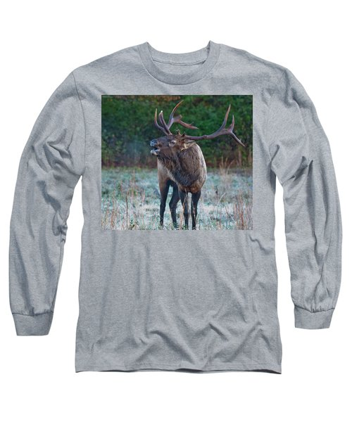Bugling Elk Long Sleeve T-Shirt