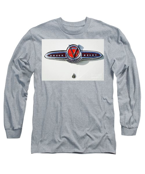 Long Sleeve T-Shirt featuring the photograph Buick V Eight by Dennis Hedberg