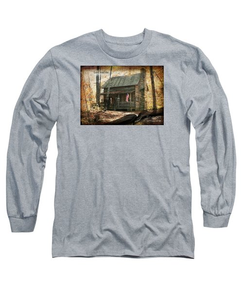 Build Your Life On His Word Long Sleeve T-Shirt