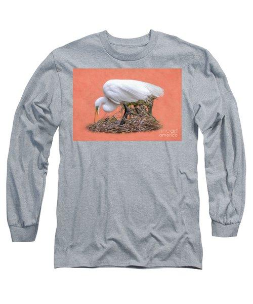 Building A Nest Long Sleeve T-Shirt
