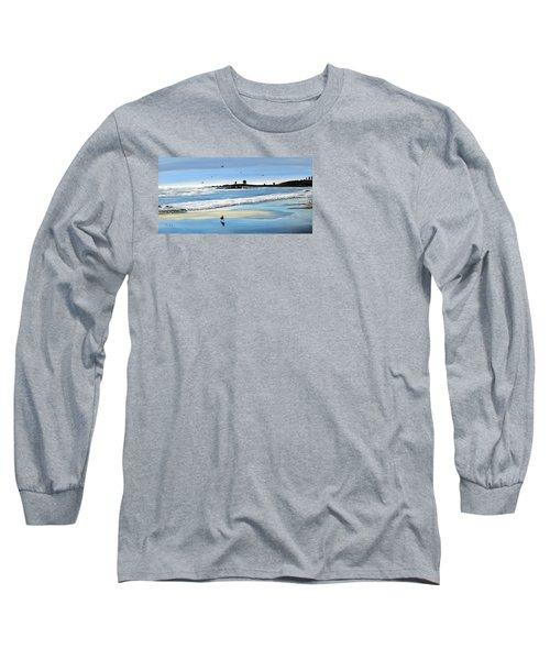 Bull Beach 2 Long Sleeve T-Shirt by Marilyn McNish