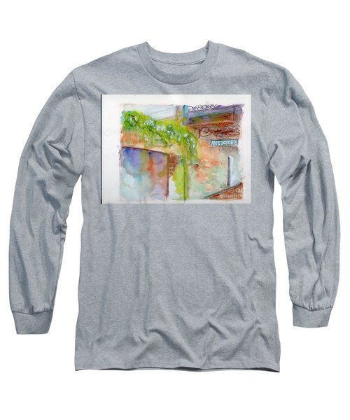 Bull Street Savannah Ga Long Sleeve T-Shirt