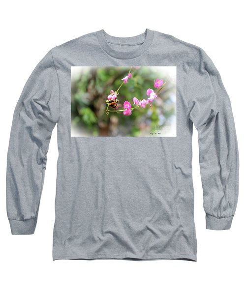 Long Sleeve T-Shirt featuring the photograph Bumble Bee2 by Megan Dirsa-DuBois