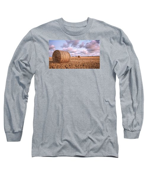 Bundy Hay Bales #1 Long Sleeve T-Shirt