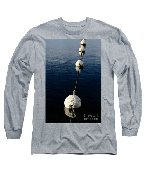 Long Sleeve T-Shirt featuring the photograph Buoy Descending by Stephen Mitchell