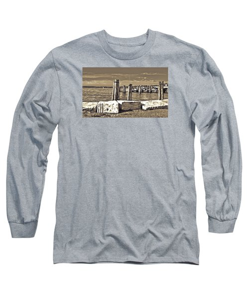 Burlington Pier Long Sleeve T-Shirt