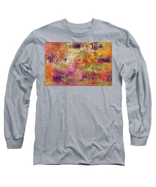 Burning Fire #2 Long Sleeve T-Shirt
