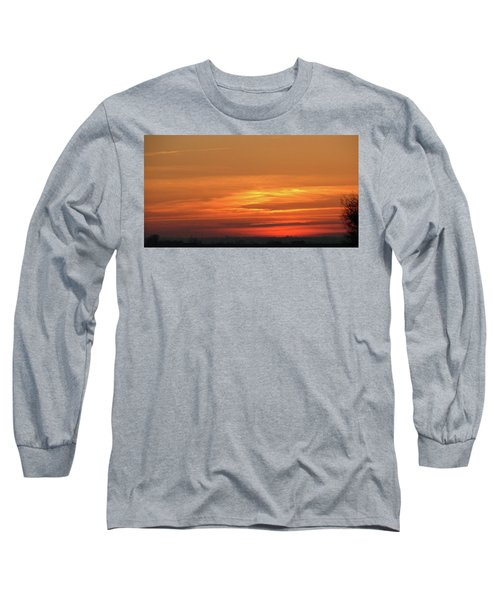 Burning Sunset Long Sleeve T-Shirt