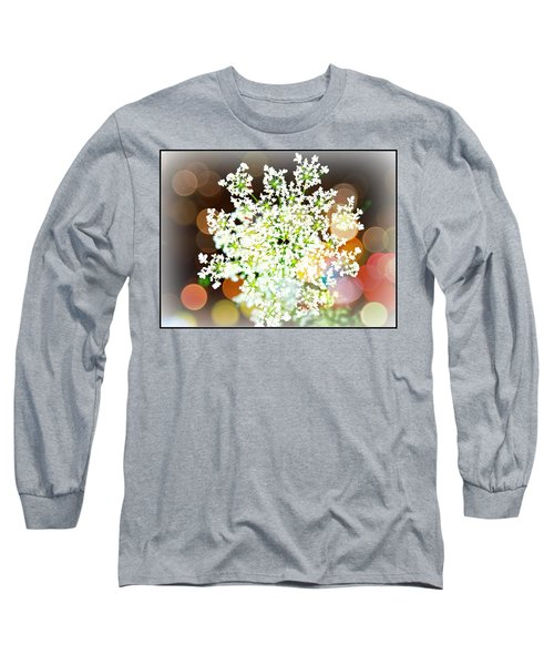 Burst Of Light Kaleidoscope Long Sleeve T-Shirt