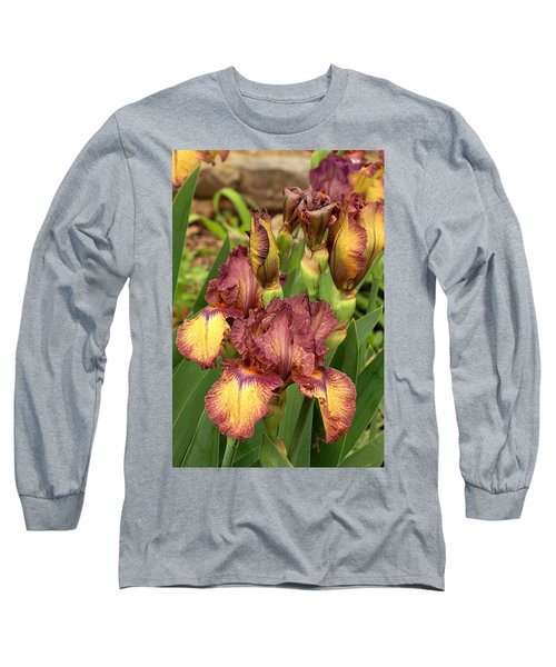 Long Sleeve T-Shirt featuring the photograph Bursting In Beauty by Sheila Brown