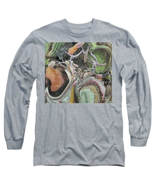 Bursting Through Long Sleeve T-Shirt