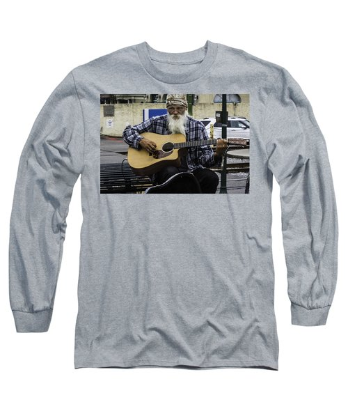 Busking In New Orleans, Louisiana Long Sleeve T-Shirt