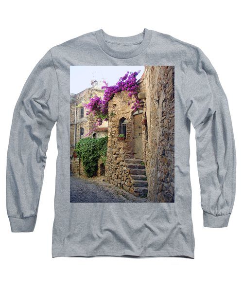 Bussana Vecchia Street Long Sleeve T-Shirt