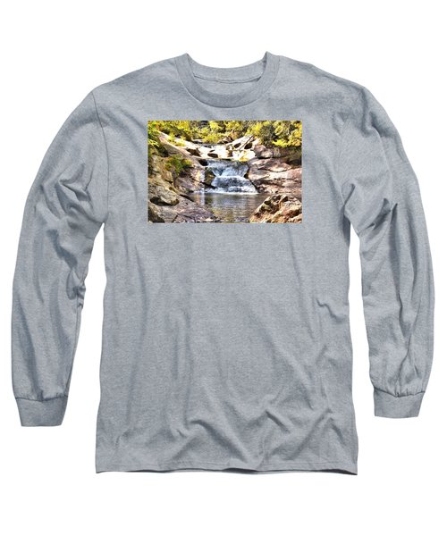 Bust Your Butt Falls Long Sleeve T-Shirt by James Potts