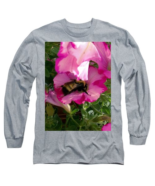 Busy Bumble Bee Long Sleeve T-Shirt