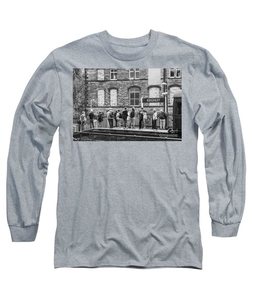 Busy Waiting Long Sleeve T-Shirt