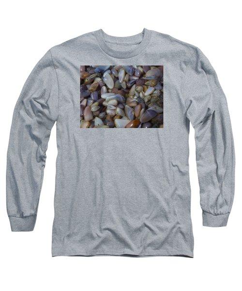 Buttefly Clam Rainbow Long Sleeve T-Shirt