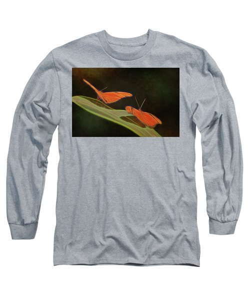 Butterfly Love 1a Long Sleeve T-Shirt