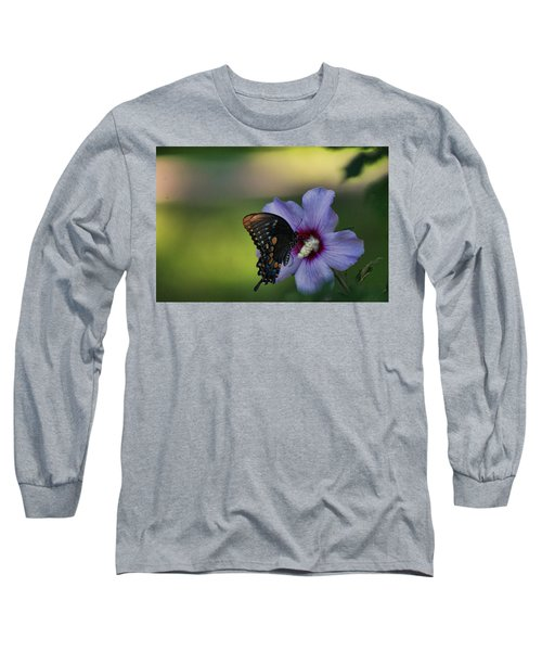Butterfly Lunch Long Sleeve T-Shirt