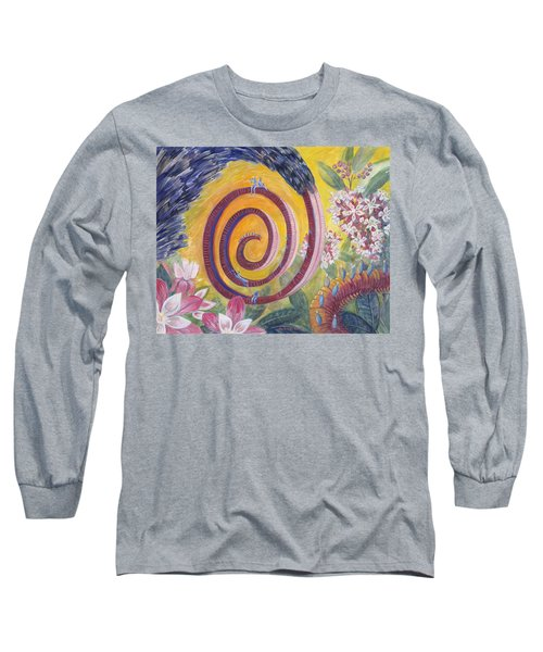 Butterfly's 'tongue' Long Sleeve T-Shirt