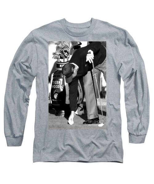 Bw Tiger Woods Tee II Long Sleeve T-Shirt