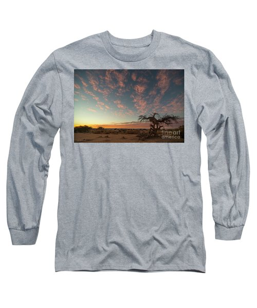 Long Sleeve T-Shirt featuring the photograph Bye Bye To Sunset by Arik Baltinester