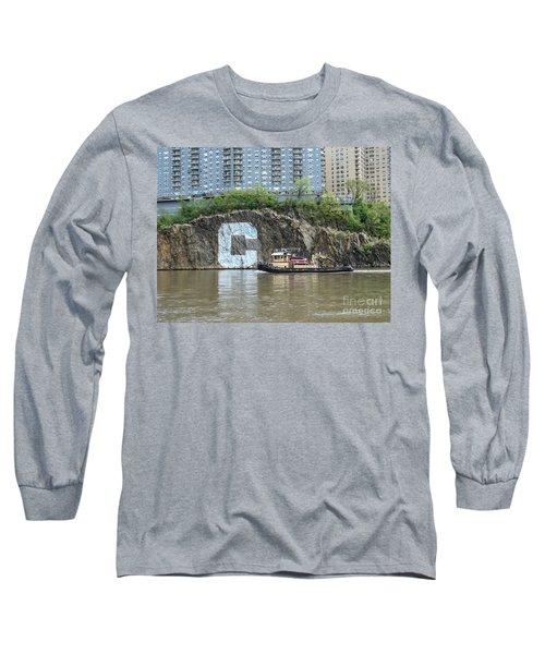 C Rock With Tug Long Sleeve T-Shirt