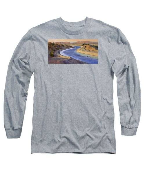 Ca Aqueduct 2 Long Sleeve T-Shirt by Jane Thorpe