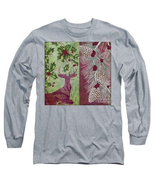 Cabin Christmas I Long Sleeve T-Shirt