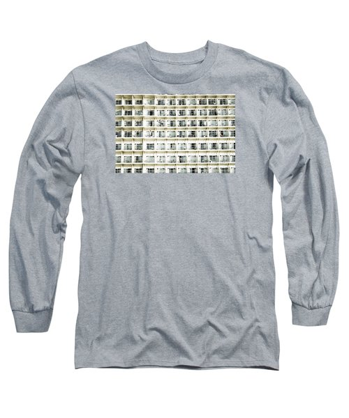 Cabins And Deck Long Sleeve T-Shirt by Perry Van Munster
