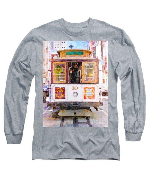 Cable Car No. 10 Long Sleeve T-Shirt