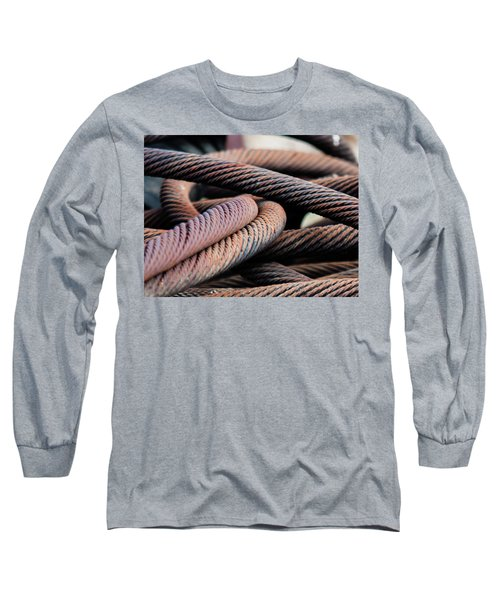 Cable Chaos Long Sleeve T-Shirt
