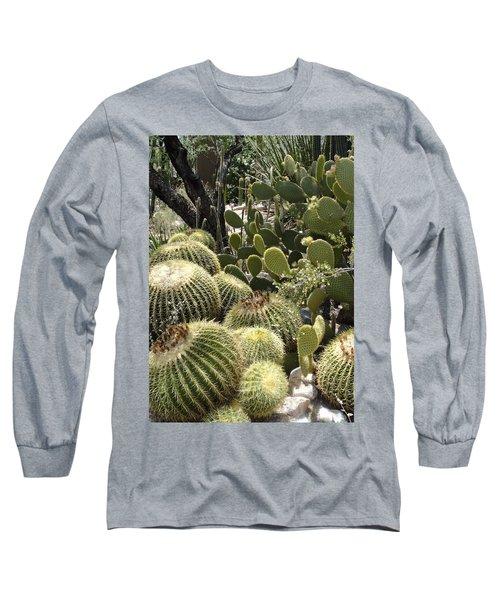 Cactus Life In Arizona Long Sleeve T-Shirt