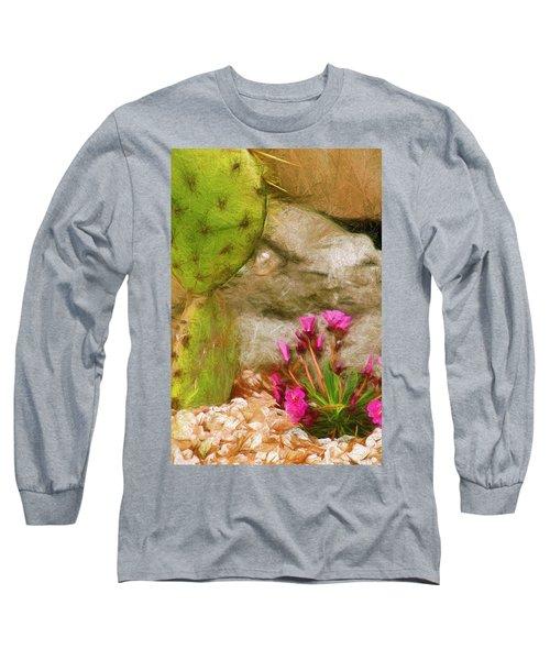 Cactus Lines Long Sleeve T-Shirt