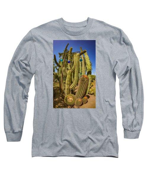 Cactus Skyscraper Long Sleeve T-Shirt