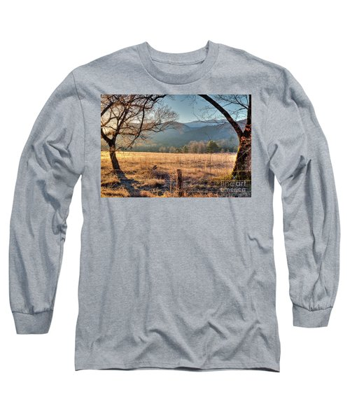 Cades Cove, Spring 2017 Long Sleeve T-Shirt by Douglas Stucky