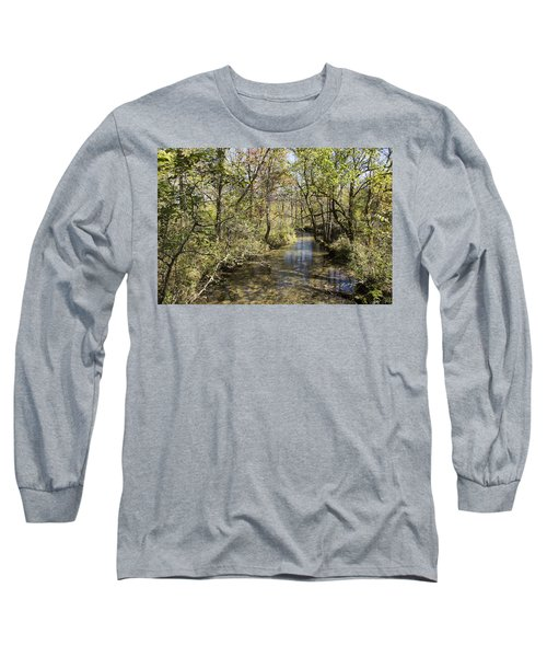 Cades Creek Long Sleeve T-Shirt by Ricky Dean