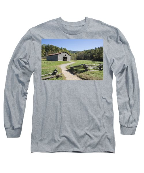 Cades Stables Long Sleeve T-Shirt by Ricky Dean