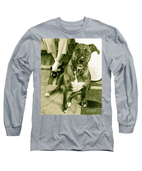 Long Sleeve T-Shirt featuring the photograph Caeser 6 by Robin Coaker