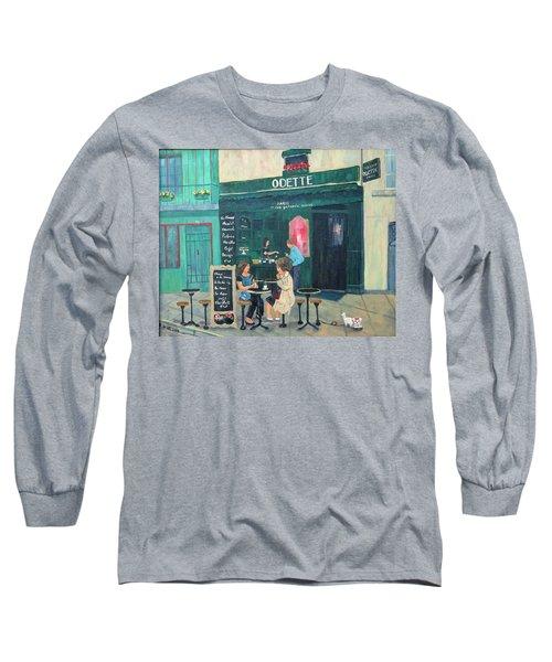 Cafe Odette Long Sleeve T-Shirt