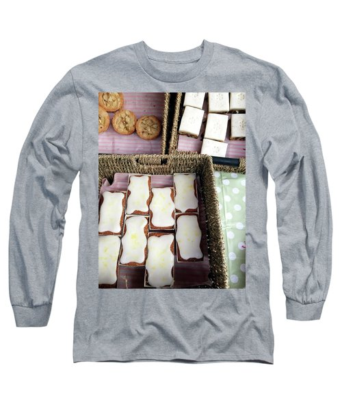 Cakes At The Market Long Sleeve T-Shirt