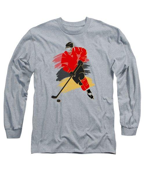 Calgary Flames Player Shirt Long Sleeve T-Shirt