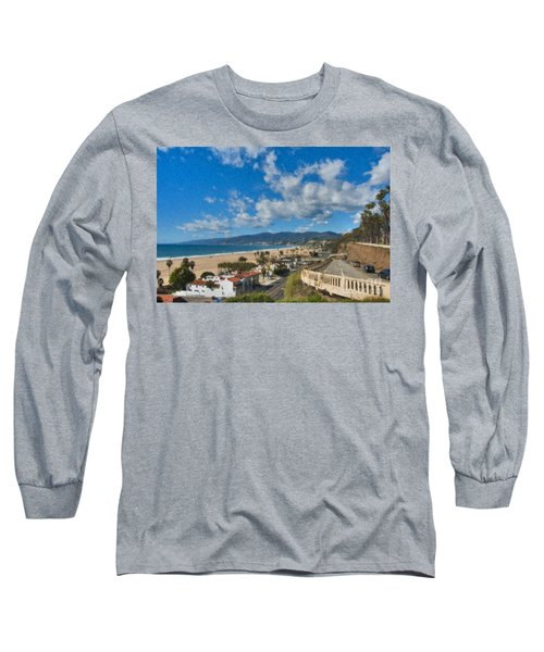California Incline Palisades Park Ca Long Sleeve T-Shirt