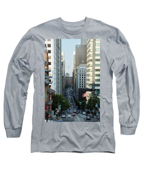 California Street San Francisco Long Sleeve T-Shirt