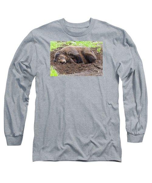 Call Later Long Sleeve T-Shirt by Harold Piskiel